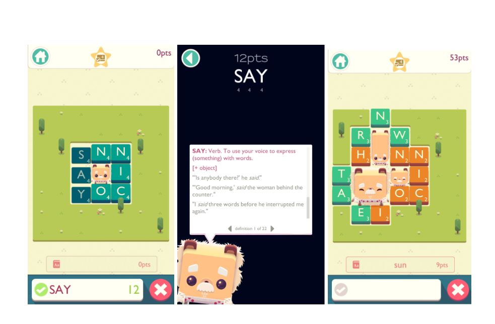 Alphabear 2 - 7 Apps for Learning English Vocabulary | Oxford House Barcelona