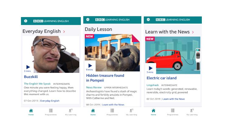 BBC Learning English - 8 of the best apps for learning English | Oxford House Barcelona
