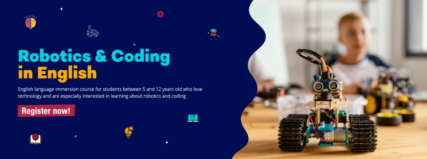 Robotics and Coding in English for Kids