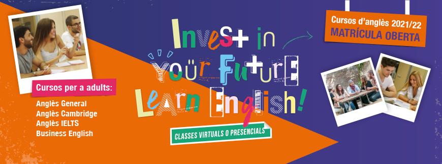 Cursos d'anglès per a adults 21-22   Oxford House Barcelona