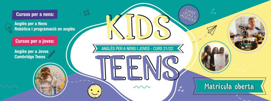 Cursos d'anglès per a nens i joves 21-22   Oxford House Barcelona
