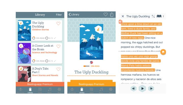 Beelingu - 8 of the best apps for learning English | Oxford House Barcelona