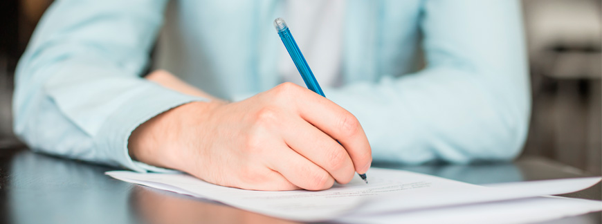 IELTS: Writing part 1 - how to write a descriptive report | Oxford House Barcelona