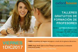 Talleres para profesores de idiomas en Oxford House Barcelona