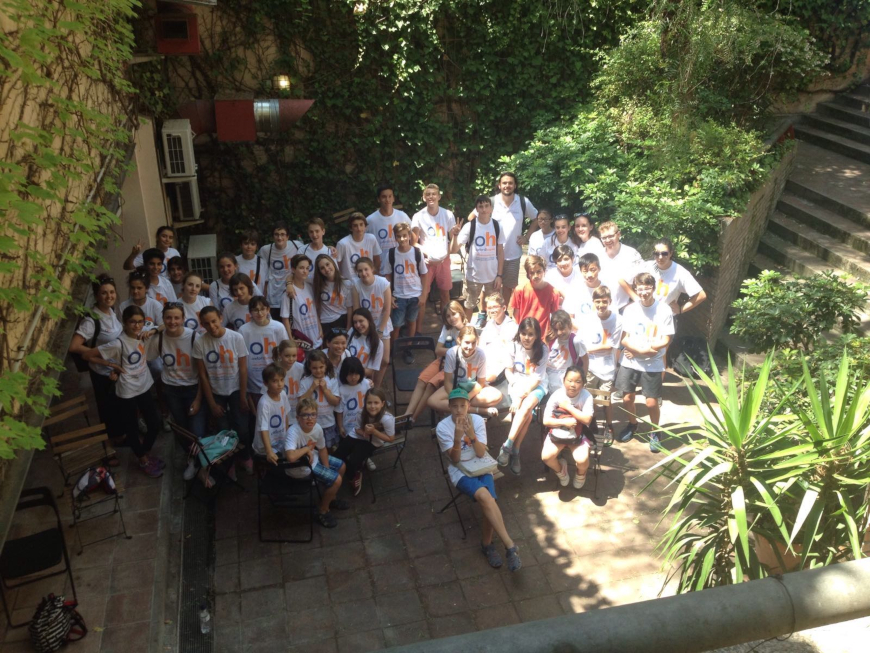 Teens Summer Course - Oxford House Garden | Oxford House Barcelona