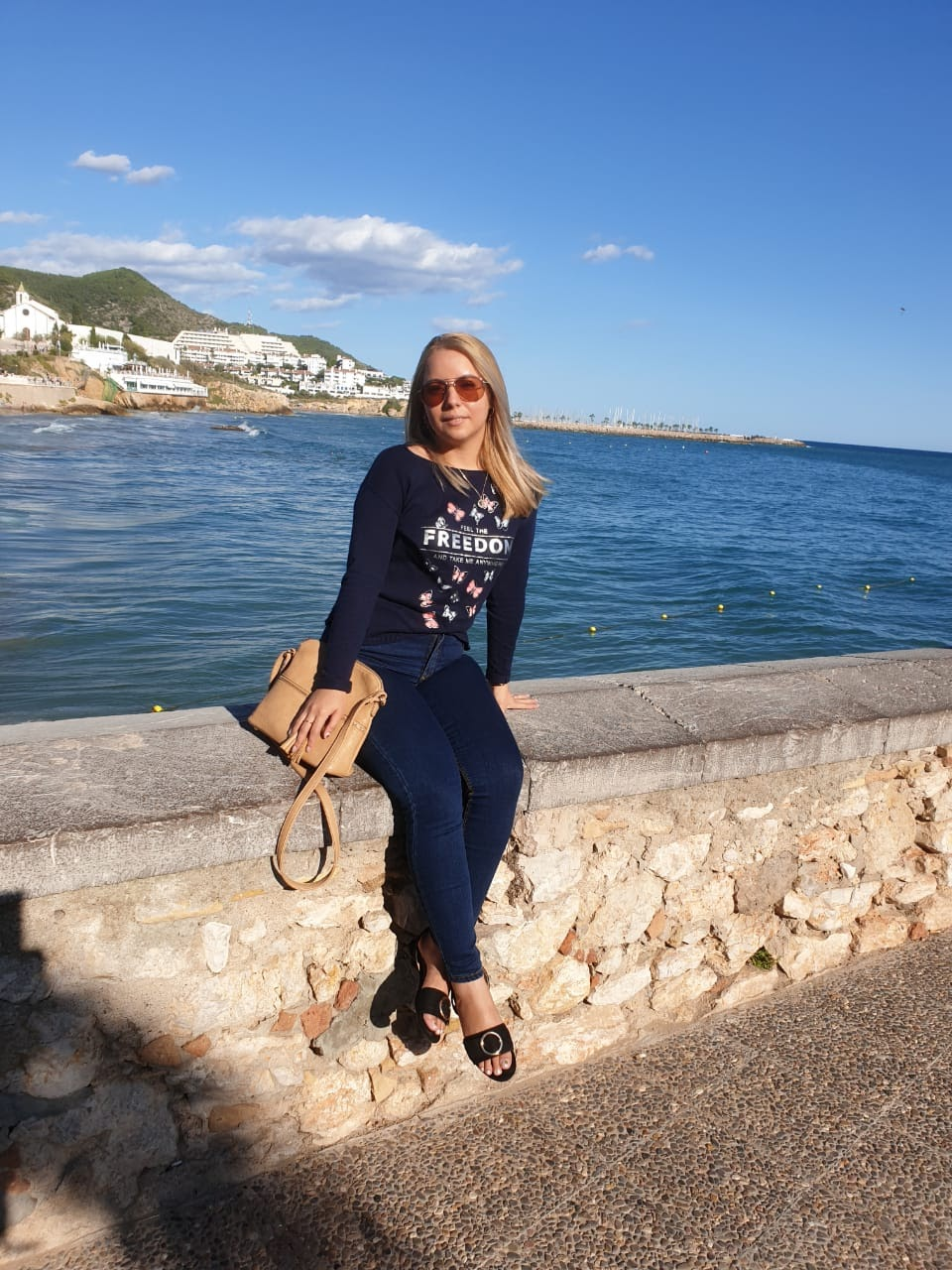 Roxana in Sitges