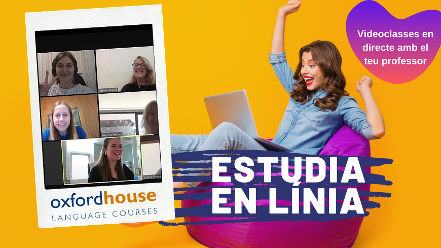 Estudia en línia a Oxford House Barcelona