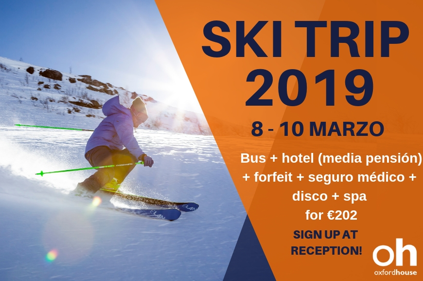 Oxford House Barcelona SKI TRIP 2019