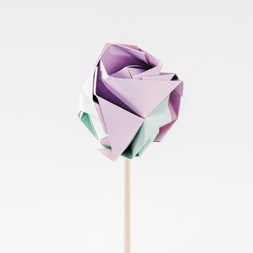 Paper Rose - Five ways to celebrate Sant Jordi at home | Oxford House Barcelona