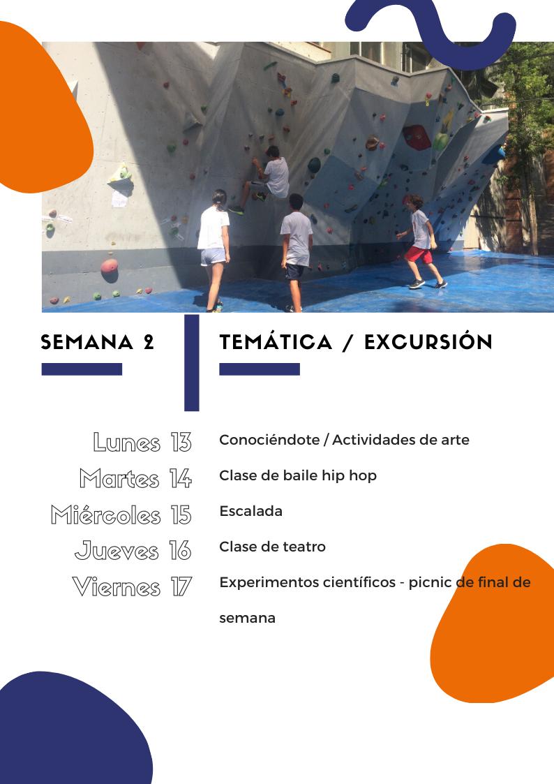 Curso de verano para niños y jóvenes 2020 | Semana 2 | Oxford House Barcelona