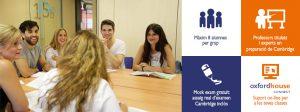 Cursos de preparació a exàmens Cambridge a Oxford House Barcelona