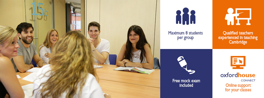 Cambridge Summer Intensive Courses at Oxford House Barcelona