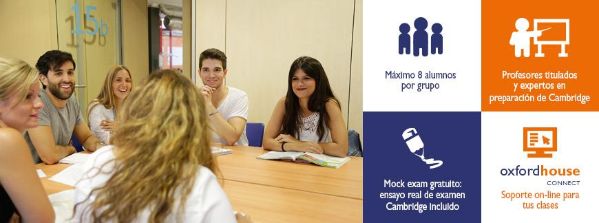 Cursos de preparación a exámenes Cambridge