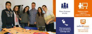 Cursos de preparació Cambridge First, Advanced o Proficiencyper a joves
