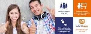 Cursos de verano de preparación a exámenes Cambridge para jóvenes a Oxford House Barcelona