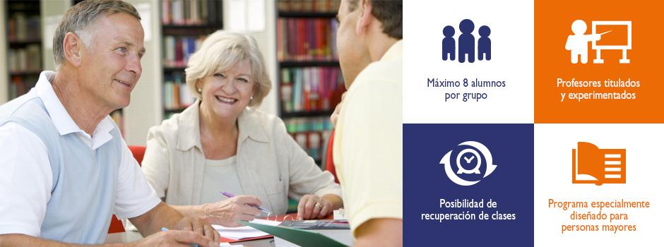 Cursos de inglés para mayores de 55 años | Cursos Seniors | Oxford House Barcelona