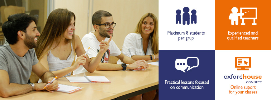 Summer English Intensive Courses at Oxford House Barcelona