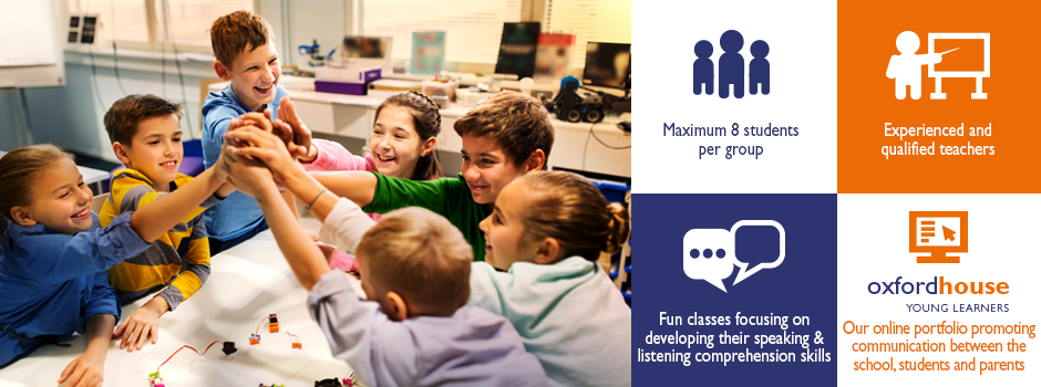 English Courses for Kids | Oxford House Barcelona