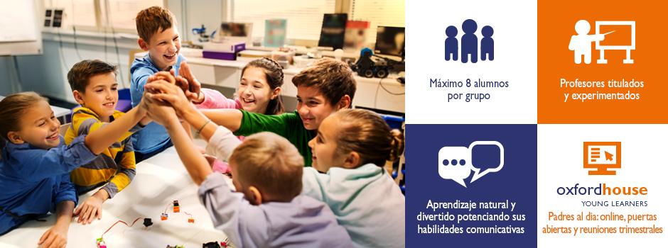 Cursos de inglés para niños | Oxford House Barcelona