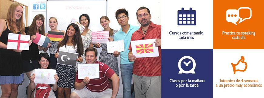 Curso económico de Español Intensivo | Oxford House Barcelona