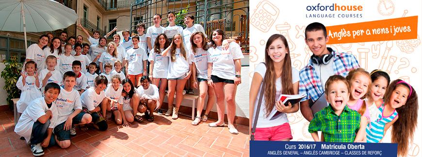 Cursos d'anglès per a nens i joves a Oxford House Barcelona