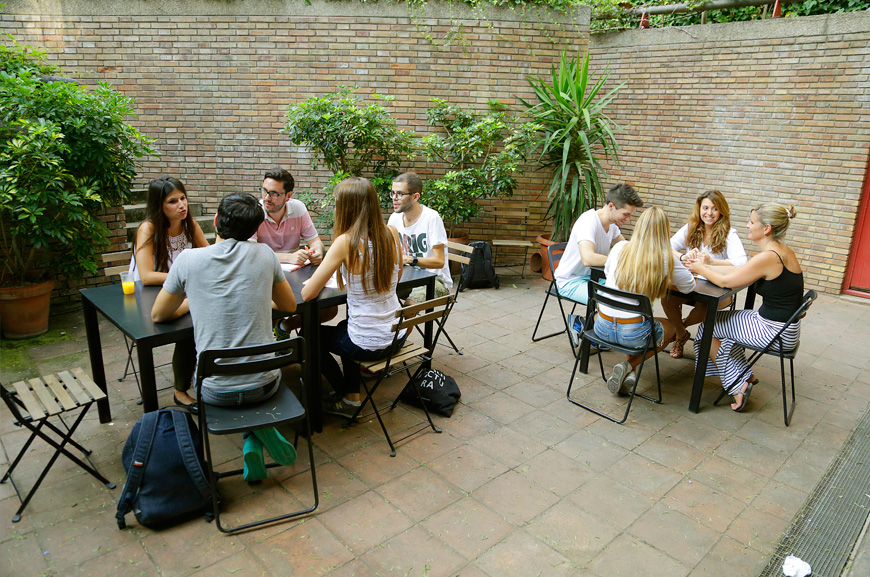 Why Oxford House is more than just a language academy - Our Garden | Oxford House Barcelona