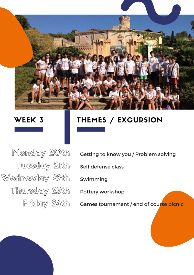 Week 3 | Oxford House 2020 Yls Summer Programme
