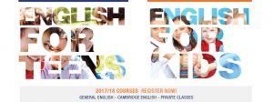 English courses for kids and teens in Oxford House Barcelona