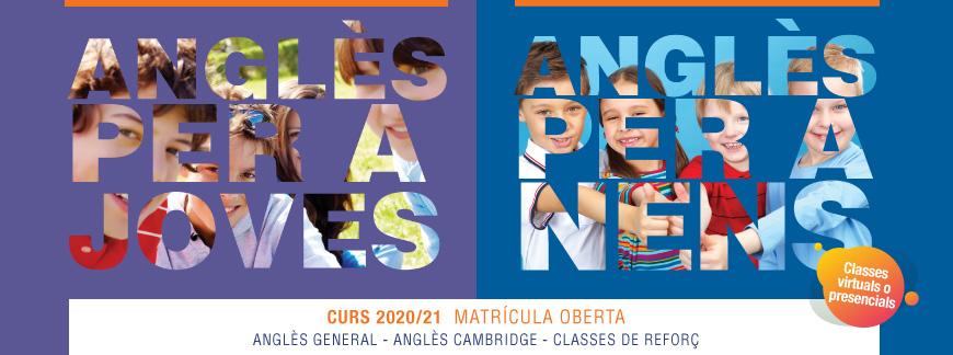 Cursos d'anglès per a nens i joves 20/21   Oxford House Barcelona