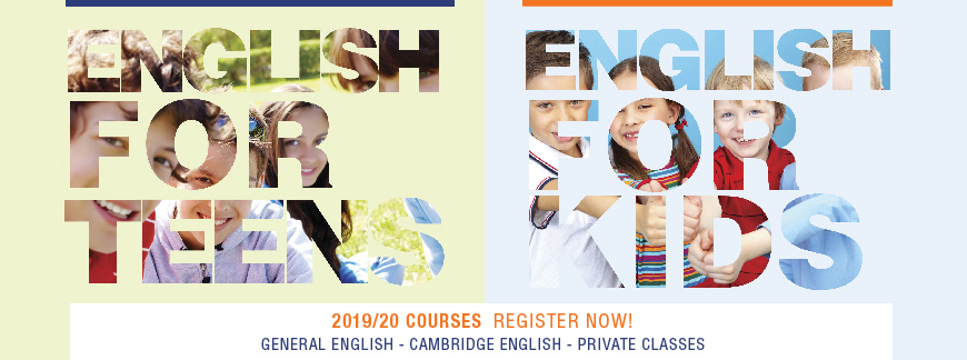English courses for kids and teens 19/20 at Oxford House Barcelona