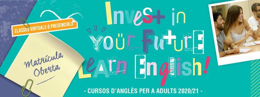 Cursos d'Anglès per a adults 20/21 a Barcelona | Oxford House Barcelona