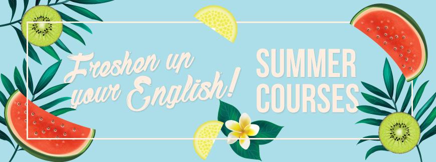Cursos de inglés en verano / Cursos d'anglès a l'estiu / English Summer Courses